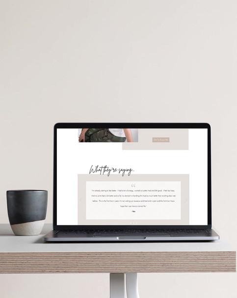 Livia Wellness Home Page