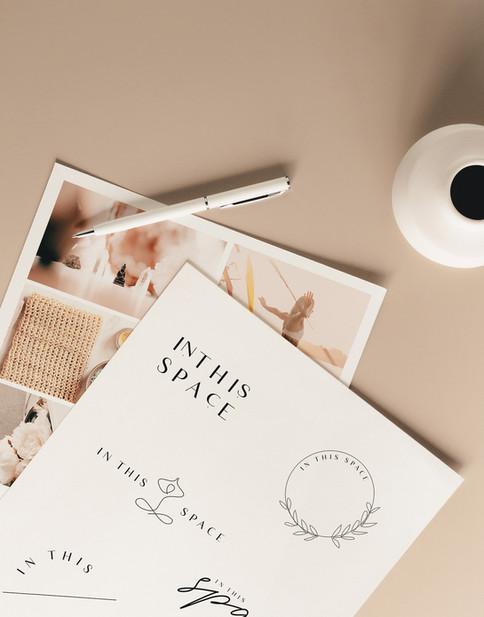 Portfolio - In This Space Logo Concepts