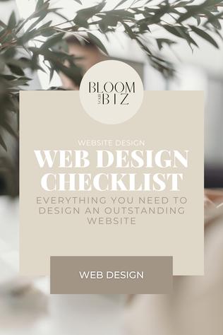 DIY: The Website Design Checklist Every DIY-er Needs