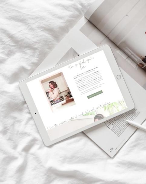 shazess wellness home page scroll.mp4
