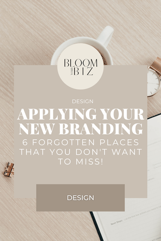 Where to Apply Your New Brand Elements After a Rebrand