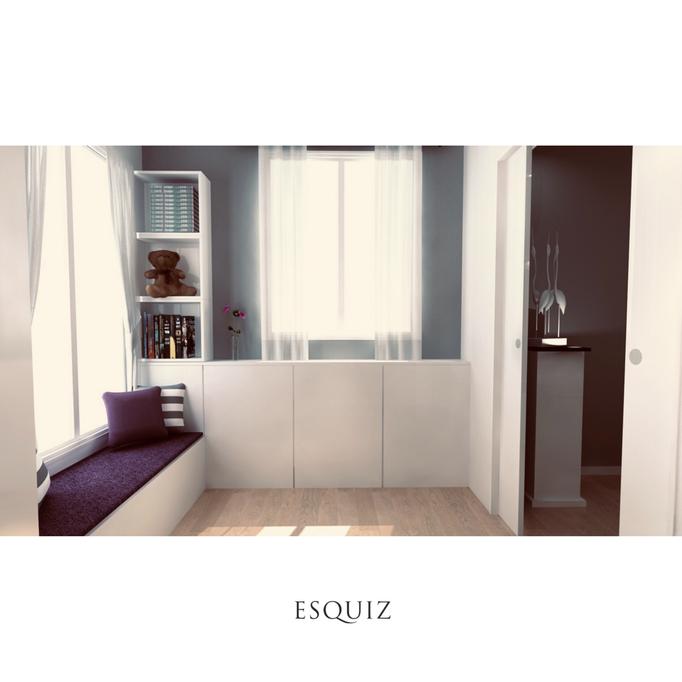 Esquiz, Aménagement de chambre pour enfant à Paris 75016.