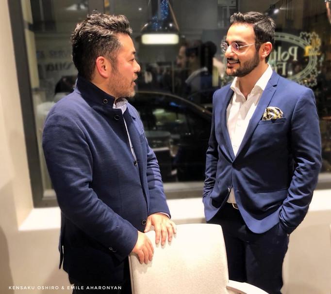 Rencontre entre créateursKensaku Oshiro &Emile Aharonyan