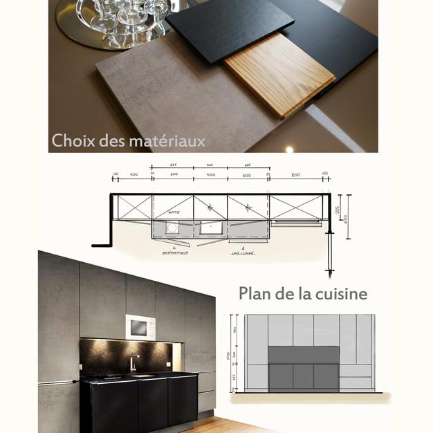 Petit Cuisine Dans Un Studio De 20 M2 à Paris Pour De Lu0027investissement  Locatif Meublé.