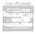 Esquiz, Plan de la cuisine Zecchinon située à Paris 75011 dessinée à la main sur l'iPad pro.