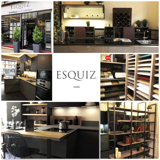 ESQUIZ, Photos des cuisines de marque Zecchinon actuellement en exposition dans notre show-room au 1