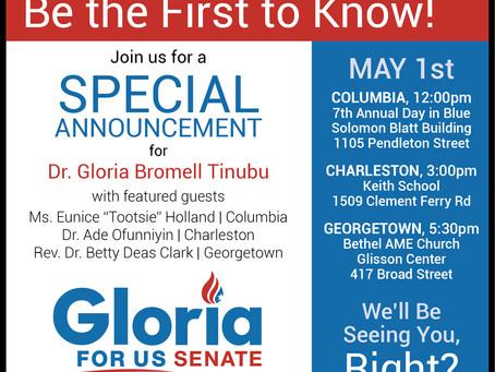 Democratic Challenger for Graham Senate Seat