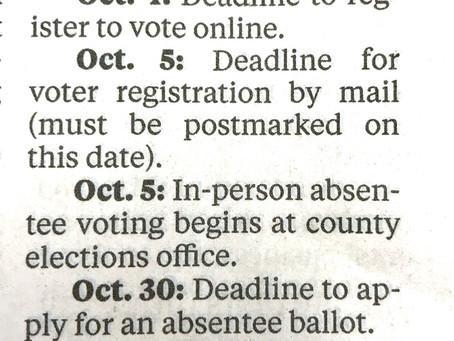 Plan to VOTE