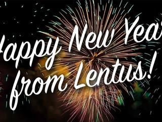 Happy New Year from Lentus
