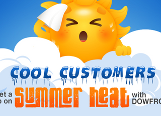 Cool Customers Get a Jump on the Summer Heat with DOWFROST