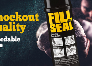 Fill and Seal Provides Great Quality Insulating Foam at a Price You can Afford