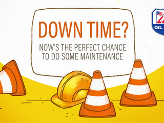 Downtime? Now's the perfect chance to do some maintenance