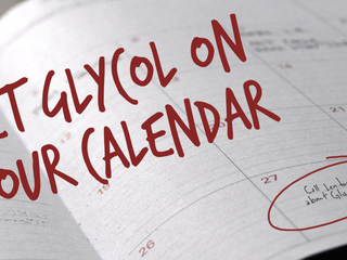 Get Glycol on Your Calendar