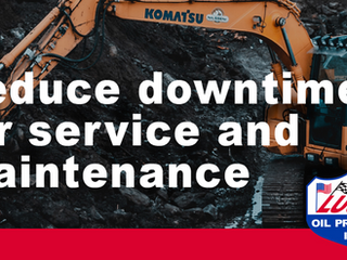 Reduce downtime for service and maintenance with Lucas Oil MRO lubricants