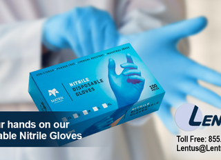 Get Your Hands on Our Disposable Nitrile Gloves