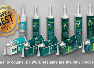 When quality counts, DOWSIL sealants are the only choice for you.