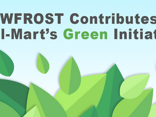 DOWFROST Contributes to Wal-Mart's Green Initiative
