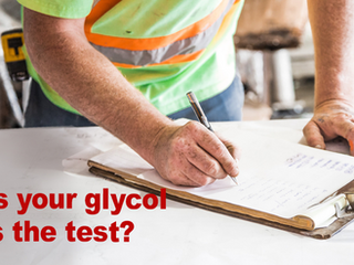 Does your Glycol pass the test?