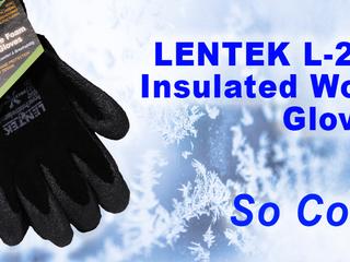 LENTEK L-201 Insulated Work Gloves. So Cool.