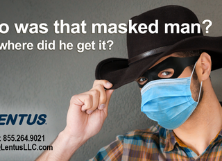Who was that masked man? And where did he get it?