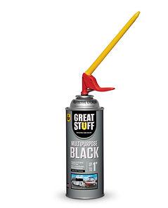 99112876 GREAT STUFF MULTIPURPOSE BLACK