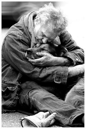 Blameless and Forever Free Ministries and Chaplain Tammy understands the love and connection that our friends in need (homeless population) have and receive from the love of their animals.  Love gives hope.  Hope brings strength and healing.  Love conquers all.  God's Great Love speaks life.
