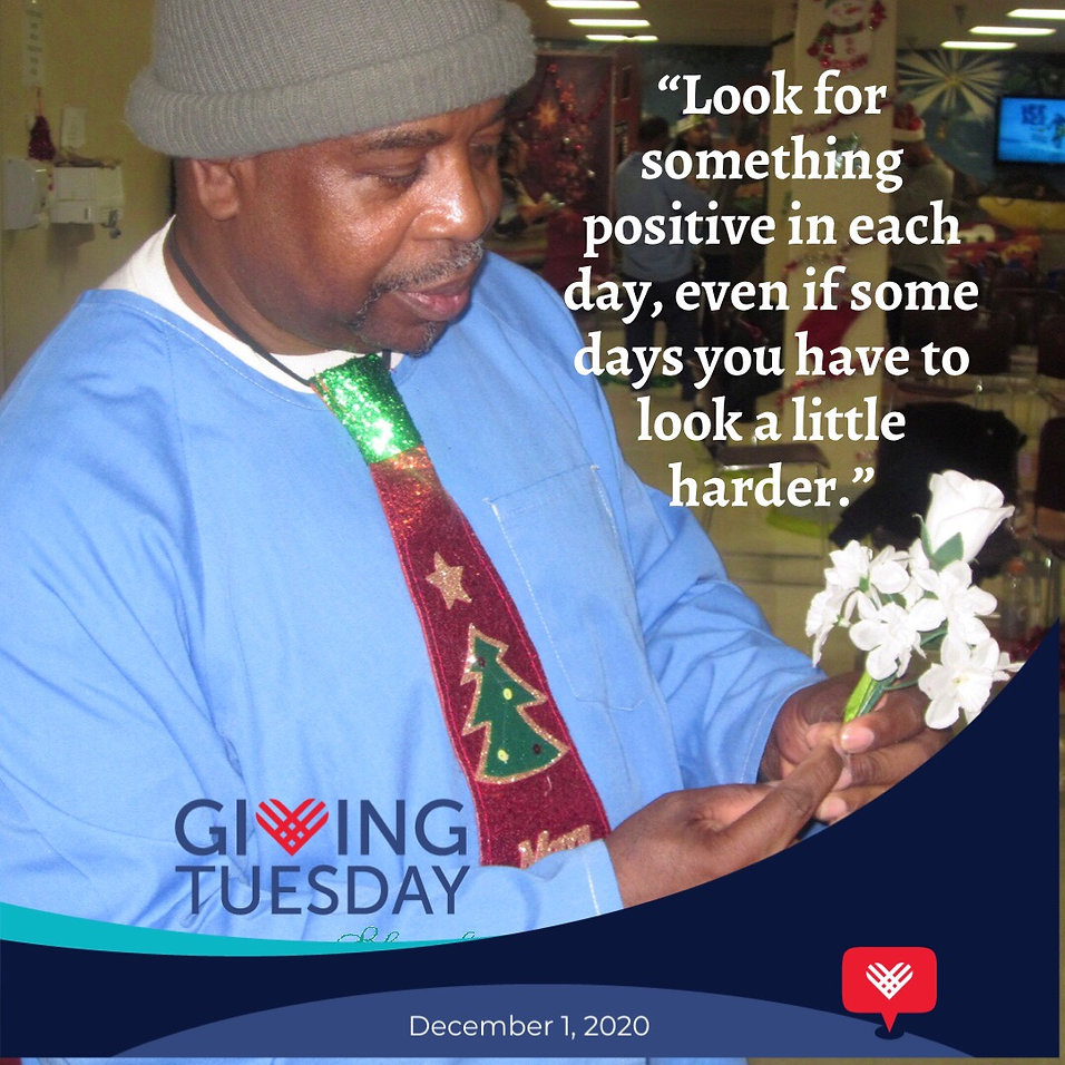 #GivingTuesday Blameless and Forever Free Ministries believes that we should look for something positive in each day, even if some days you have to look a little harder.  This way we're able to understand today's offender will be tomorrow's neighbor, so do not judge my story by the chapter you walked in on.  Incarceration IS and will ALWAYS be a part of my story!