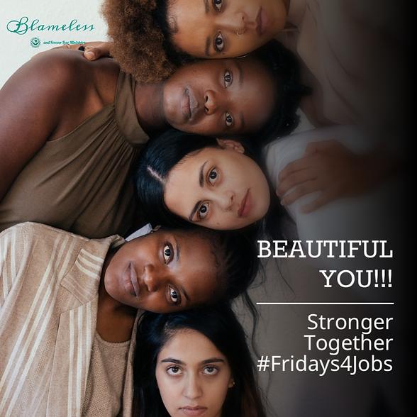 Blameless Beautiful You #Fridays4Jobs.pn