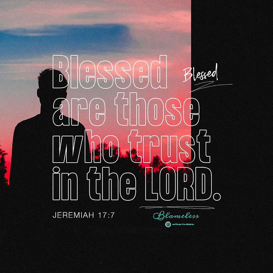 Blameless and Forever Free Ministries believes blessed are those who trust in the Lord, and that includes our incarcerated, their families and our correctional staff at our state prisons that Jeremiah 17.7 relates.  Operating as trauma-informed prisons delivers peace, not triggers, when we place our hope and trust in the Lord, creating atmospheres that deliver healing and wholeness.