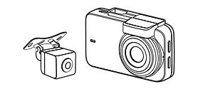 innowa journeyplus dashcam ドライブレコーダー 外形寸法