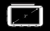 innowa journeyplus  dashcam ドライブレコーダー3インチ大画面液晶