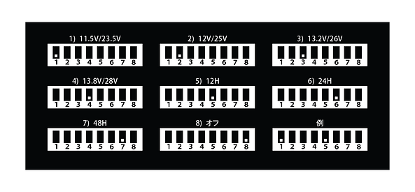 innowa ケーブル 2balance スイッチ設定