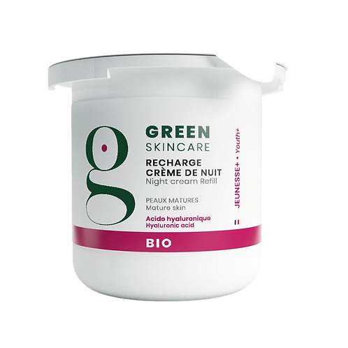 Recharge Crème de nuit Jeunesse+  Green Skincare