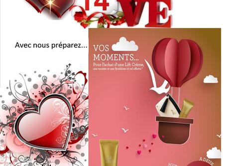 Préparez votre Saint Valentin