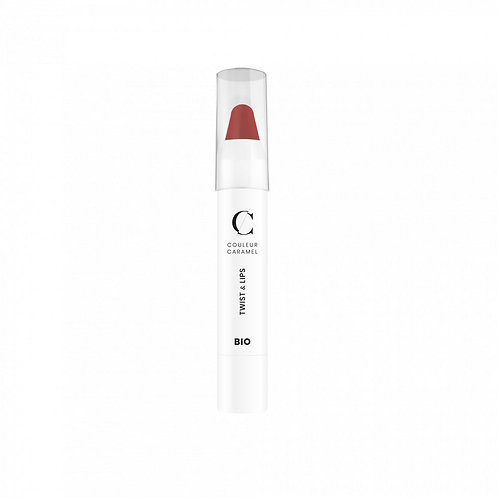 Twist & Lips N° 401 Beige rouge Couleur Caramel