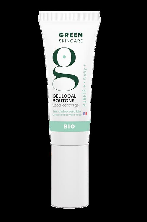 Gel local Boutons Pureté   Green Skincare