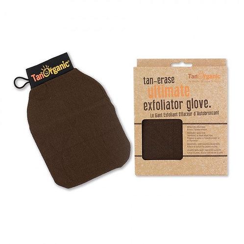 Gant exfoliant effaceur d'auto-bronzant corps  Tan Organic