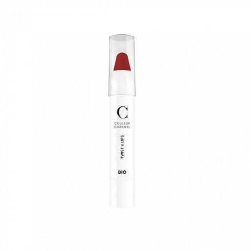 Twist & Lips N° 407 Rouge Glossy  Couleur Caramel