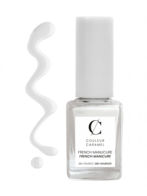Vernis french manucure N°1 Blanc Couleur Caramel