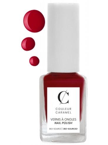 Vernis N°8 Rouge Mat Couleur Caramel