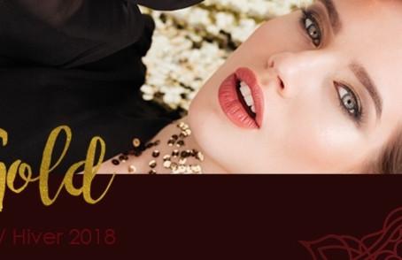 STAY GOLD  la nouvelle collection Couleur Caramel