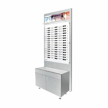 Small Glasstop Cabinet and Back Boards