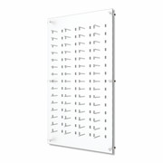 Acrylic Wall Mount DW Panel - DW31-60FH