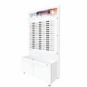 Large Cabinet and Back Boards - White