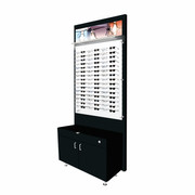 Small Cabinet and Back Boards - Black