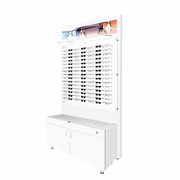 Large Glasstop Cabinet and Back Boards
