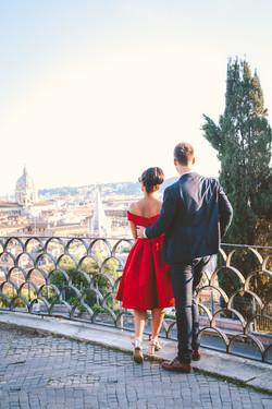 Honeymoon photo shoot in Rome