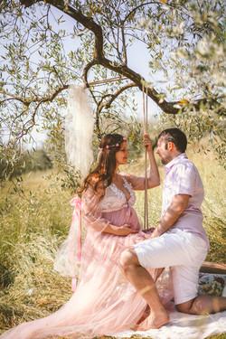 Фотосессия в оливковой роще