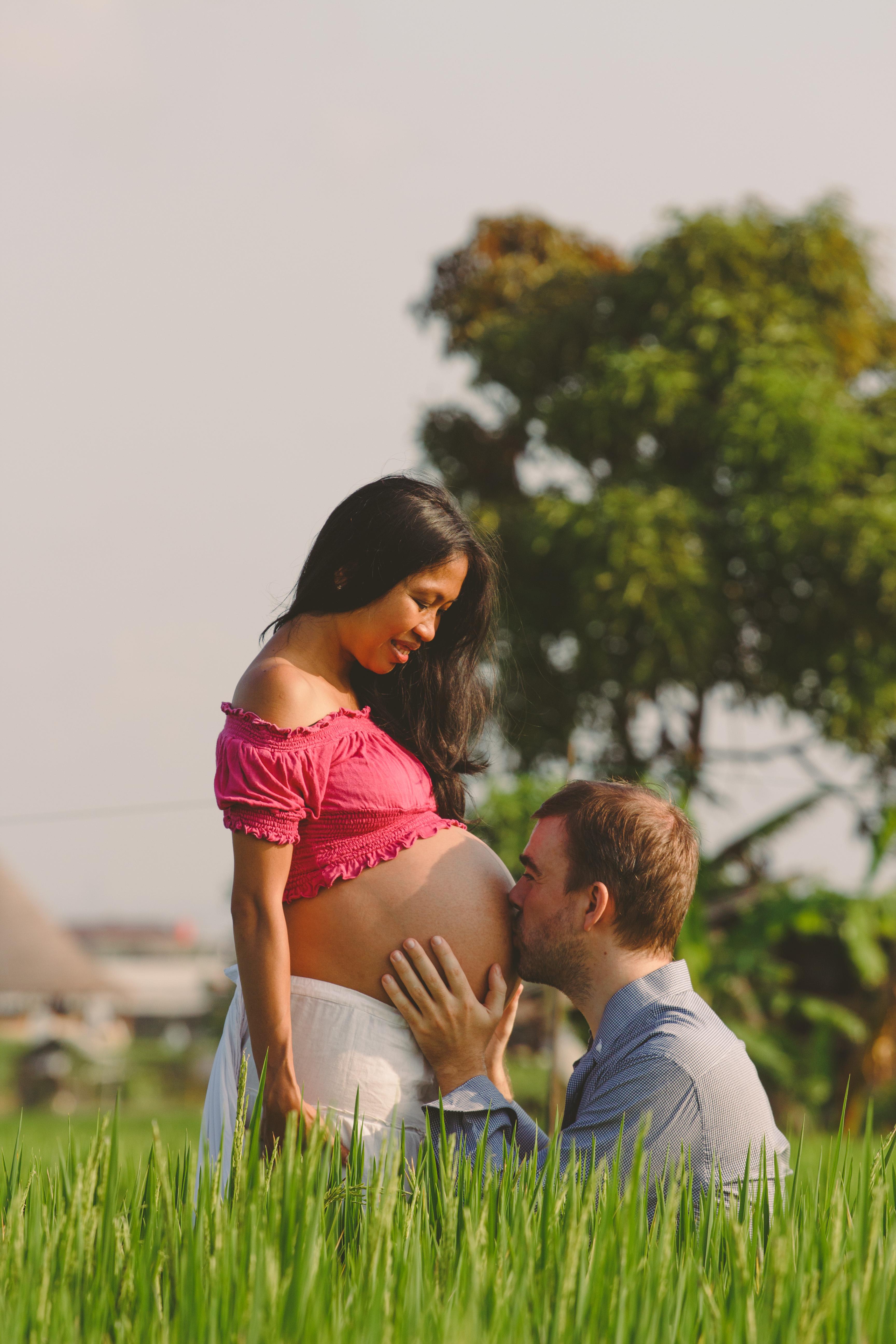 Фотосессия для будущей мамы на Бали