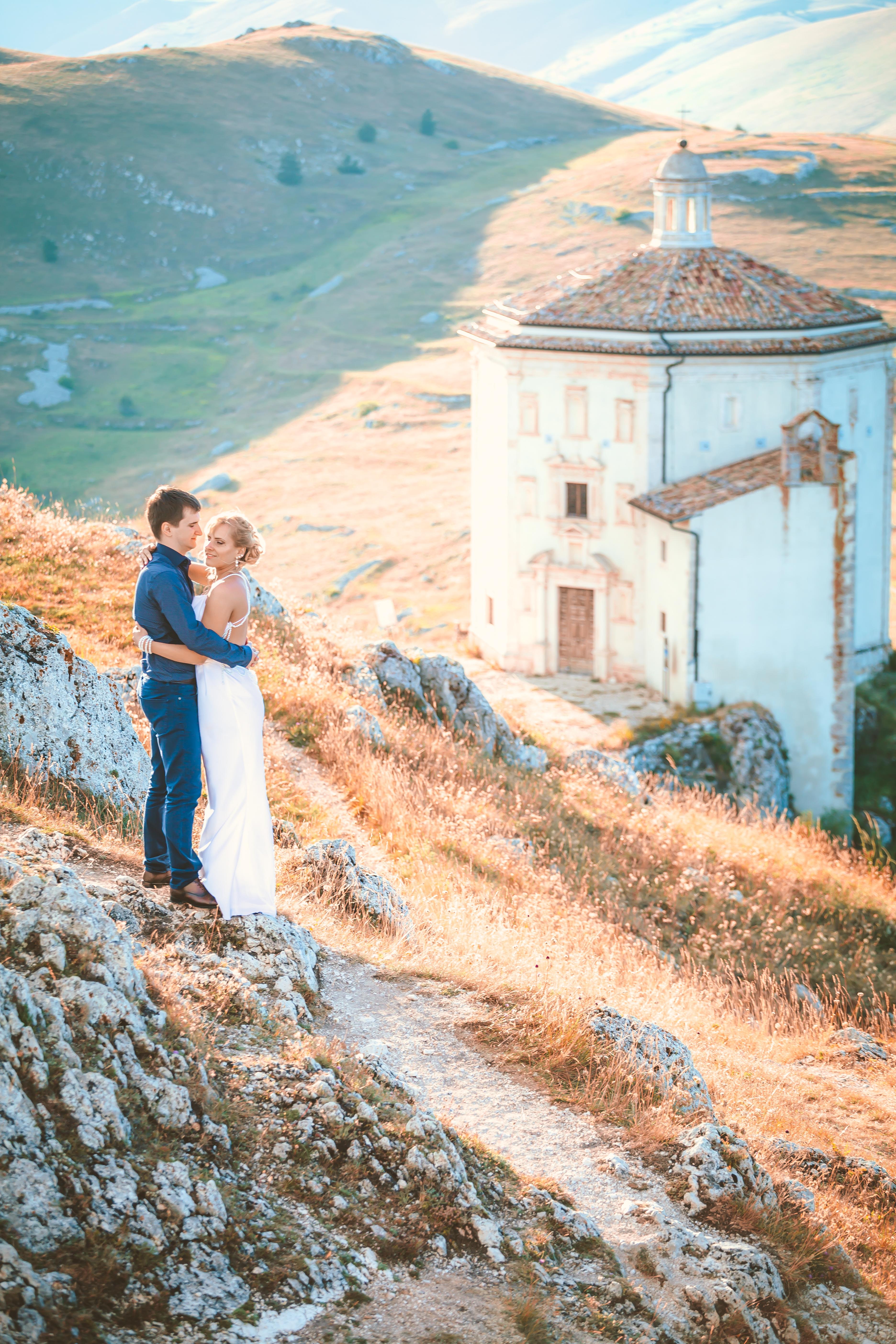 Фотосессия в горах Италии